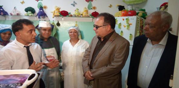 مائدة التضامن عمرالمختار بسيدي حسين ولاية تونس